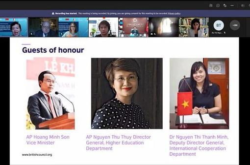 Hơn 500 chuyên gia giáo dục Việt – Anh chia sẻ kinh nghiệm về chuyển đổi số