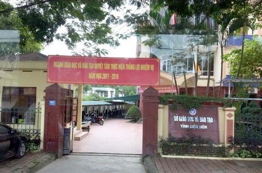 Khởi tố, bắt giam Giám đốc Sở Giáo dục và Đào tạo tỉnh Điện Biên