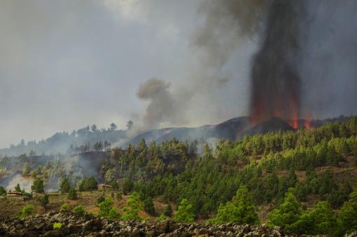 """Núi lửa La Palma phun trào: Hàng nghìn người phải sơ tán, nhiều ngôi nhà """"mất tích"""" dưới dòng dung nham"""