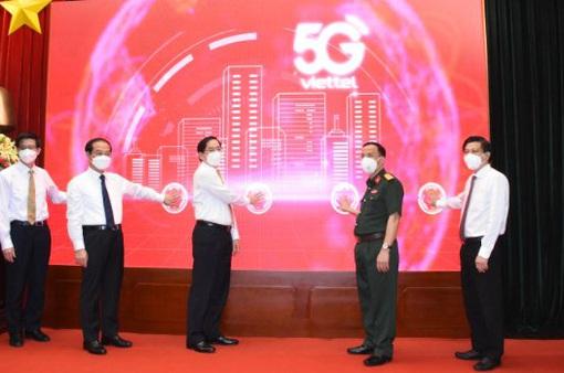 Viettel khai trương mạng 5G tại Bà Rịa - Vũng Tàu