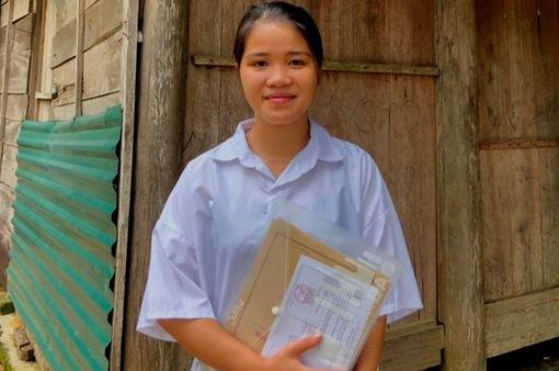 Cô gái dân tộc Chứt đầu tiên đỗ đại học