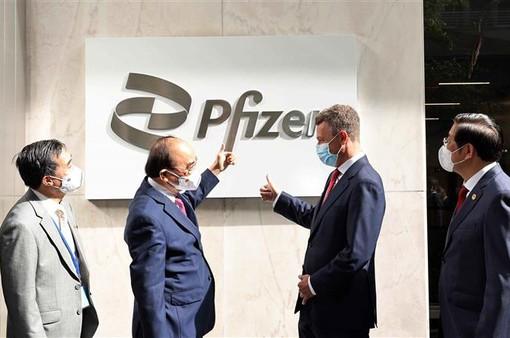 Pfizer cam kết giao đủ 31 triệu liều vaccine COVID-19 cho Việt Nam