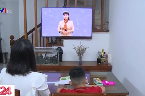 Áp dụng bài giảng trên truyền hình để bổ trợ cho việc học trực tuyến