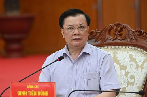 Bí thư Thành ủy Hà Nội Đinh Tiến Dũng nhận thêm nhiệm vụ mới