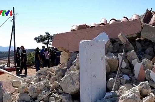 Động đất mạnh 5,8 ở miền Nam Hy Lạp