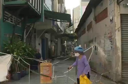 TP.HCM nhiều hẻm đã được tháo gỡ rào chắn