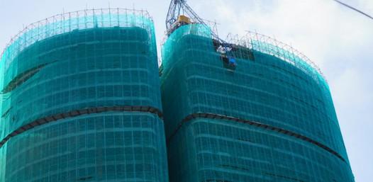 Đã hoàn tất tháo dỡ 2 cẩu tháp gãy tại Nha Trang
