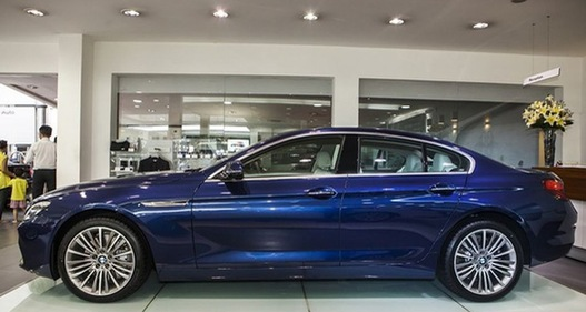 Khám phá BMW Series-6 Gran Coupe phiên bản mới tại Việt Nam