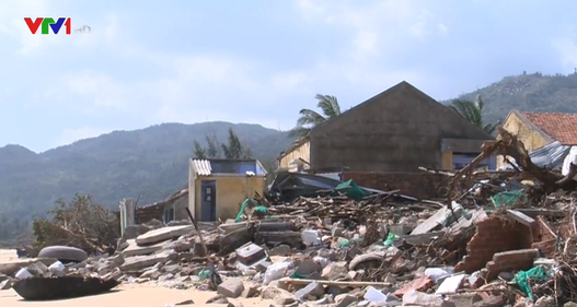 Kêu gọi hỗ trợ khắc phục hậu quả của cơn bão số 12