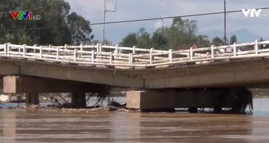 Quảng Nam: Cầu Hà Tân sụt lún và xuống cấp nghiêm trọng