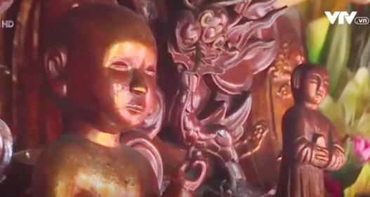 Đục tượng trộm vàng yểm tâm ở nhiều chùa tại Ninh Bình