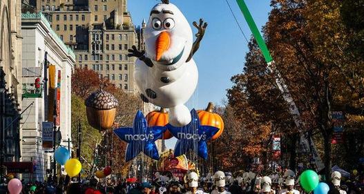 Tưng bừng diễu hành mừng Lễ Tạ ơn tại New York, Mỹ