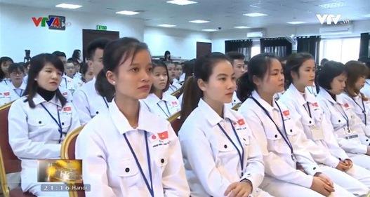 240 ứng viên Việt Nam tham gia khóa đào tạo tiếng Nhật