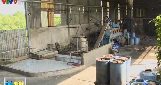 Doanh nghiệp chế biến ủ phế phẩm thủy sản gần 2 tháng