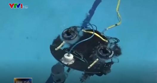 Ai Cập phát triển robot lặn nước