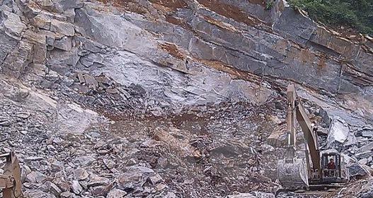 Đình chỉ hoạt động khai thác của Công ty cổ phần Á Châu sau vụ sập mỏ đá