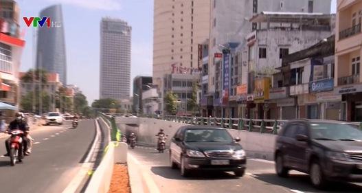 Thông hầm chui phía Tây cầu sông Hàn