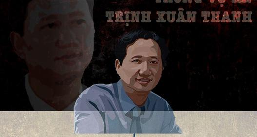 INFORGRAPHIC: Toàn cảnh diễn biến vụ án Trịnh Xuân Thanh