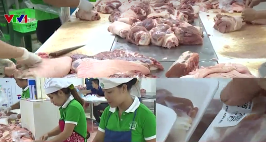 Thực phẩm trong chương trình Bữa ăn an toàn có quy trình sản xuất chặt chẽ