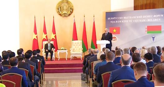 Belarus tạo điều kiện thuận lợi cho DN Việt Nam