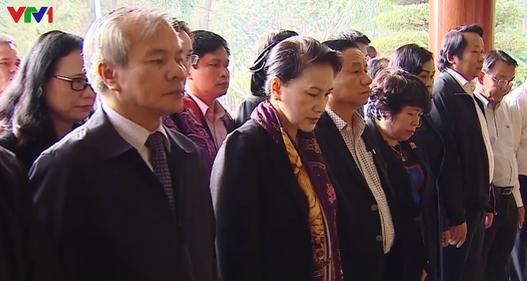 Chủ tịch Quốc hội thăm và làm việc tại Hà Tĩnh