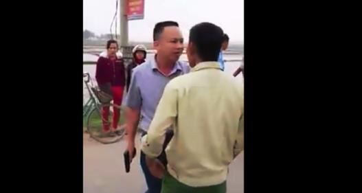 Hà Tĩnh: Xử phạt hành chính lái xe dùng súng dọa dân sau va chạm giao thông