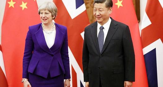 """Chuyến thăm Trung Quốc của Thủ tướng Anh Theresa May có thực sự toàn là """"hoa hồng""""?"""