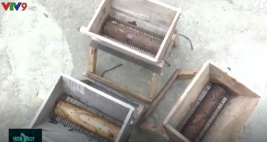 Lão nông sáng tạo máy xay chuối cây với giá chưa tới 300.000 đồng