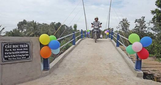 Đẩy mạnh xã hội hóa xây dựng cầu giao thông nông thôn vùng ĐBSCL