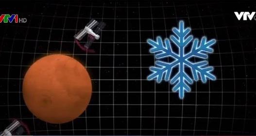 Tìm thấy băng bên dưới bề mặt sao Hỏa