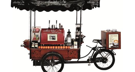 Dự án xe đạp bán cà phê chất lượng cao tại Đức