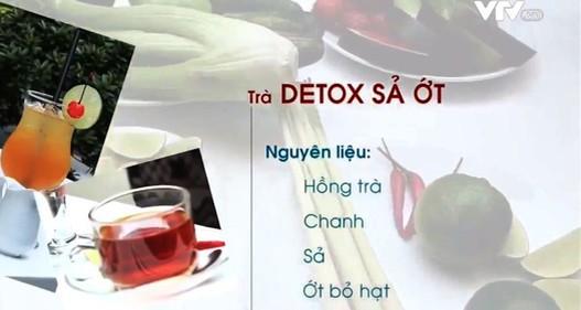Thanh lọc, giảm cân với 2 công thức sinh tố detox