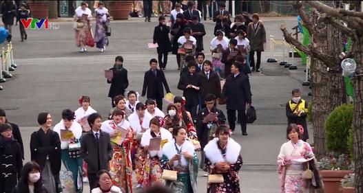 Lễ trưởng thành của thanh niên Nhật Bản