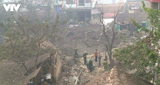 Vụ nổ ở Bắc Ninh liên quan đến một số cá nhân thuộc Trung tâm Công nghệ xử lý Bom mìn