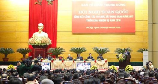 """Tổng Bí thư Nguyễn Phú Trọng: Ban Tổ chức là """"then chốt của then chốt"""""""