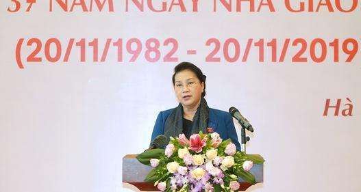 Chủ tịch Quốc hội: Sự nghiệp giáo dục đào tạo đã có sự chuyển mình tích cực
