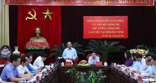 Thủ tướng: Bắc Ninh cần đóng vai trò quan trọng trong công nghiệp hóa