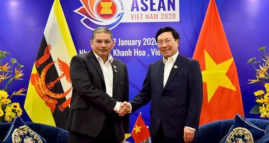 Tăng cường phối hợp Việt Nam - Brunei vì một ASEAN thịnh vượng