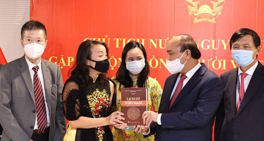 Chủ tịch nước xúc động trước nghĩa đồng bào trong đại dịch của cộng đồng người Việt tại Hoa Kỳ