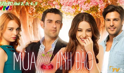 Phim truyền hình Thổ Nhĩ Kỳ mới trên kênh VTV3: Mùa anh đào