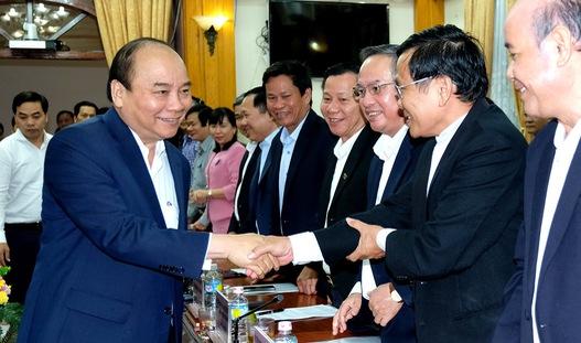 """Thủ tướng: """"Bình Định cần có thêm quyết tâm và khát vọng"""""""