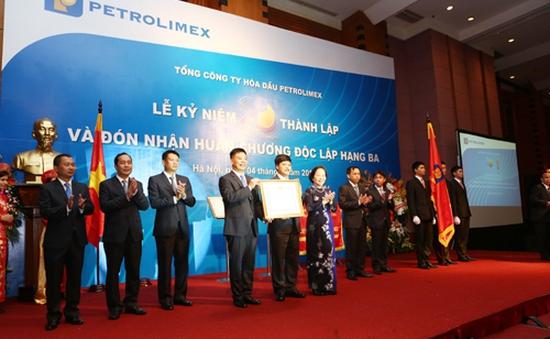 Petrolimex đón nhận Huân chương Độc lập hạng Ba