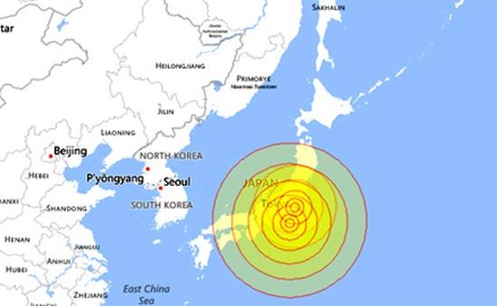 Nhật Bản hứng chịu trận động đất 5,6 độ richter