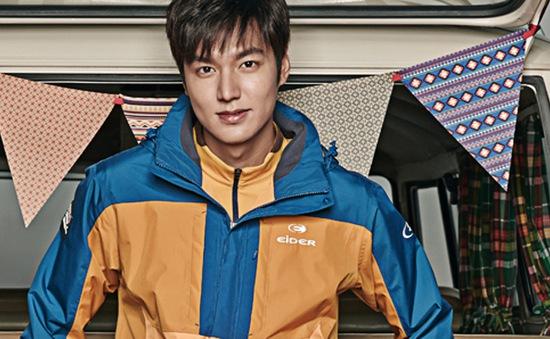 Lee Min Ho cuốn hút diện đồ thể thao