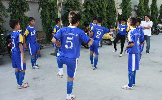 Khai mạc giải futsal THCS thành phố Hồ Chí Minh