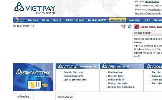 Vietpay bị tố lừa đảo