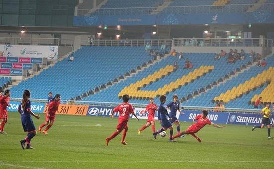 ĐT nữ Việt Nam 0-3 ĐT nữ Nhật Bản: Chênh lệch đẳng cấp