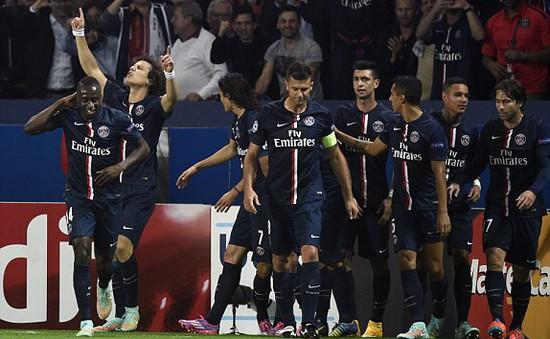 """PSG 3-2 Barcelona: """"Lấm lưng"""" tại Parc des Princes"""