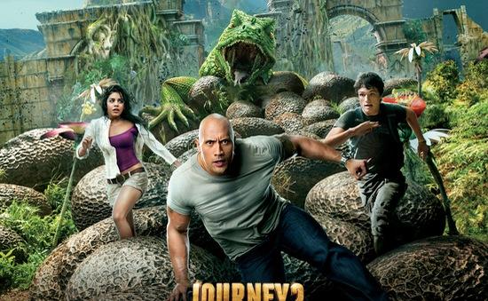 """Cùng The Rock khám phá """"Hòn đảo huyền bí""""  (17h35, Cinemax)"""