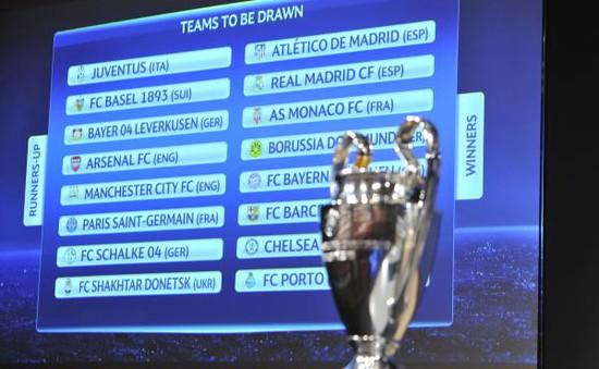 THTT lễ bốc thăm vòng 1/8 Champions League (18h00, 15/12, VTV6)